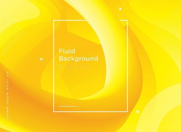 Fundo da ilustração da forma 3d fluida