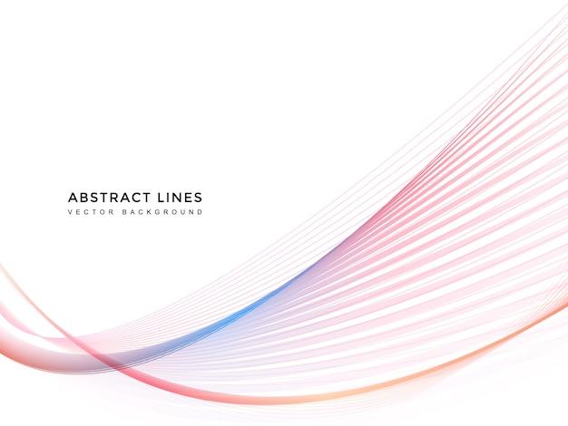 Fundo da linha abstrata