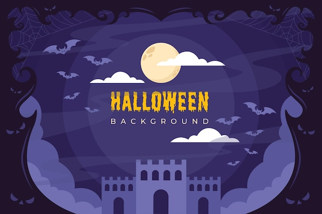 Fundo da noite de halloween