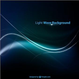 Fundo da onda de luz azul