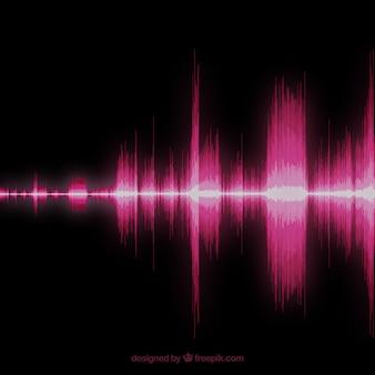 Fundo da onda sonora
