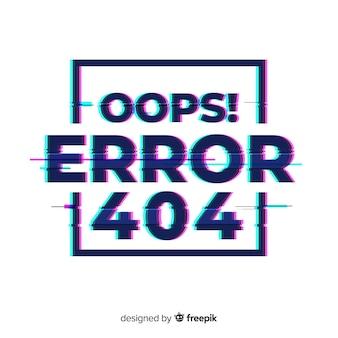 Fundo da página de erro 404
