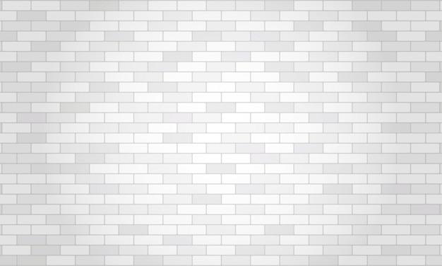 Fundo da parede de tijolo branco e cinza.