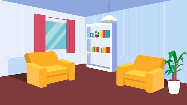 Fundo da sala de estar