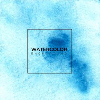 Fundo da textura da aguarela dos azul-céu, pintura da mão. cor espirrando no papel branco