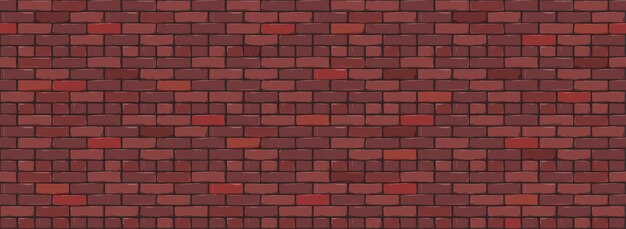 Fundo da textura da parede de tijolo. projeto digital de red color brickwall.