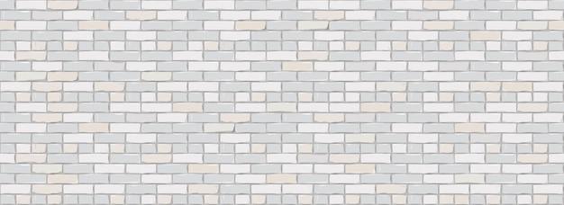 Fundo da textura da parede de tijolo. projeto digital de white color brickwall.