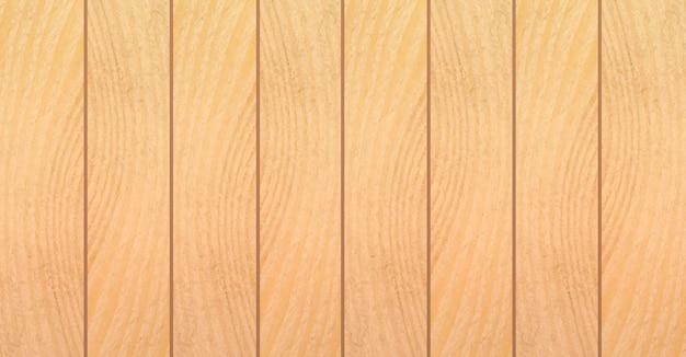 Fundo da textura de madeira. placas de madeira em design plano. ilustração vetorial