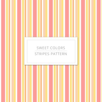 Fundo das listras das cores doces