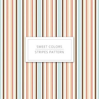 Fundo das listras em cores doces