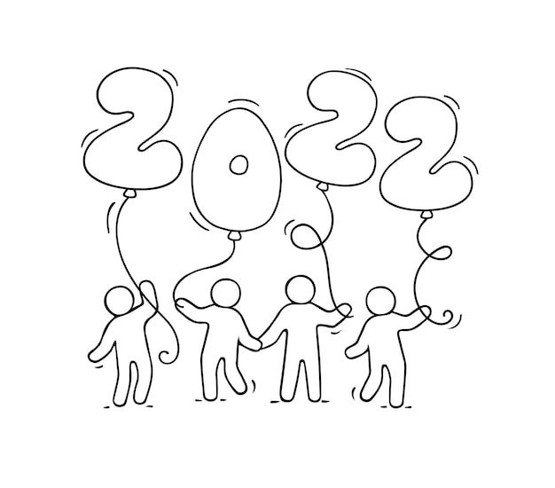 Fundo de 2022 feliz ano novo.