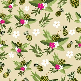 Fundo de abacaxi