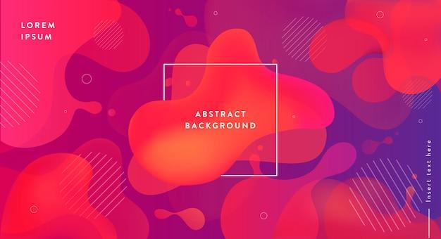 Fundo de abstractad líquido
