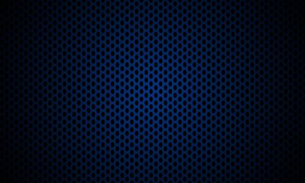 Fundo de aço com textura de metal azul escuro