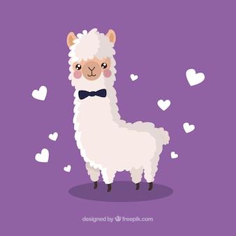 Fundo de alpaca bonito