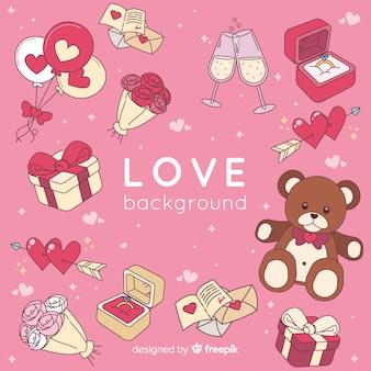 Fundo de amor