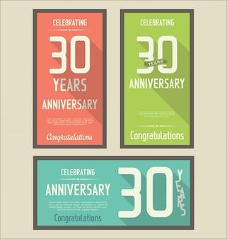 Aniversario 30 Anos Vetores E Fotos Baixar Gratis