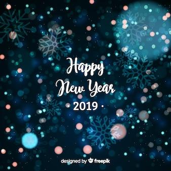 Fundo de ano novo de 2019