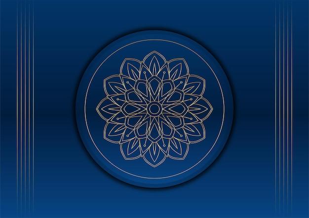 Fundo de apresentação de negócios abstrato azul e dourado. luxo padrão abstrato azul escuro com fundo dourado. textura de meio-tom de brilhos dourados coloridos com elementos dourados realistas brilhantes.