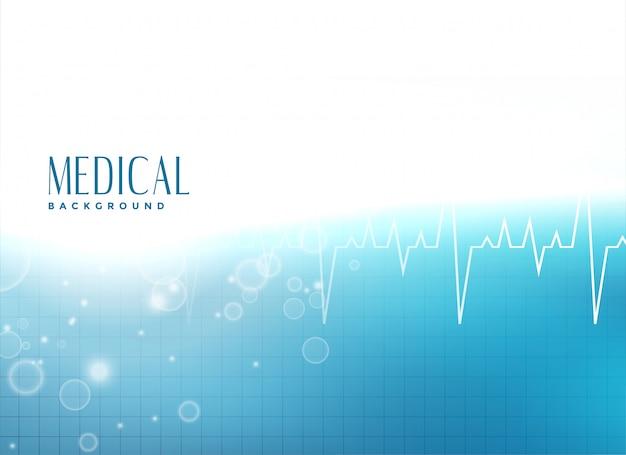 Fundo de apresentação médica