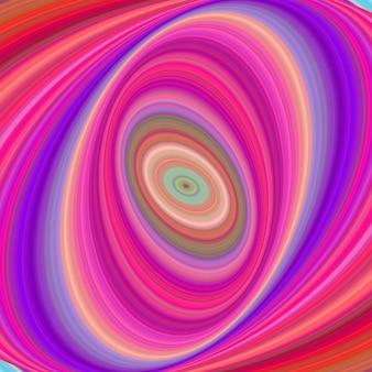 Fundo de arte digital elíptico multicolorido