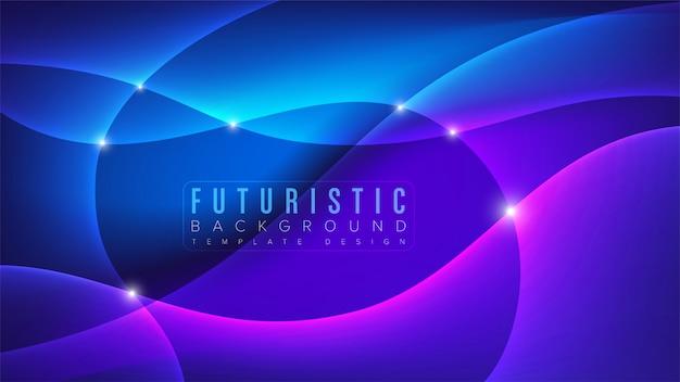 Fundo de arte futurista