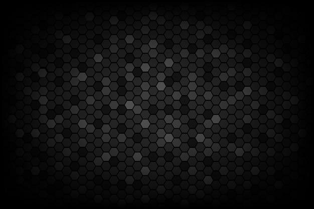 Fundo de baixa luz de textura abstrata triangular preto