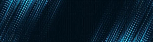 Fundo de banner de tecnologia de velocidade de néon