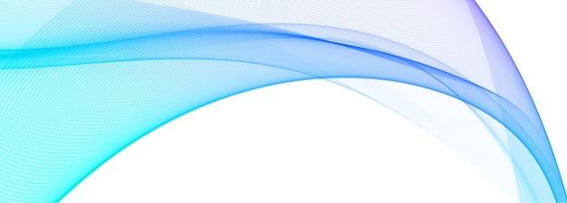 Fundo de banner moderno com ondas coloridas