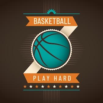 Fundo de basquete
