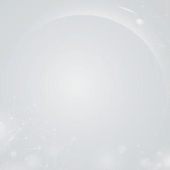 Fundo de bokeh digital futurista cinza gradiente