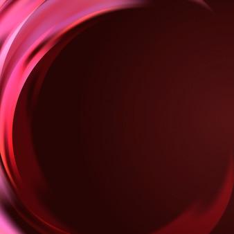 Fundo de borda de onda de luz rosa