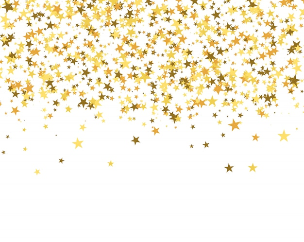 Fundo de brilho feito de estrelas