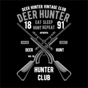 Fundo de caçador de veado