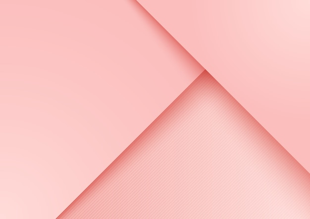Fundo de camada sobreposta de papel rosa