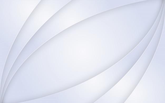Fundo de camadas de papel branco.