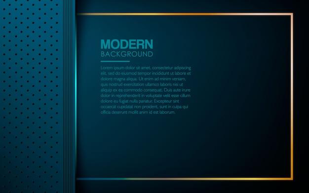 Fundo de camadas texturizadas de luxo azul
