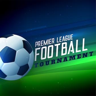 Fundo de campeonato de futebol de torneio de futebol