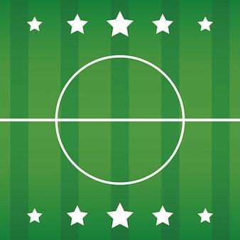 Fundo de campo de futebol