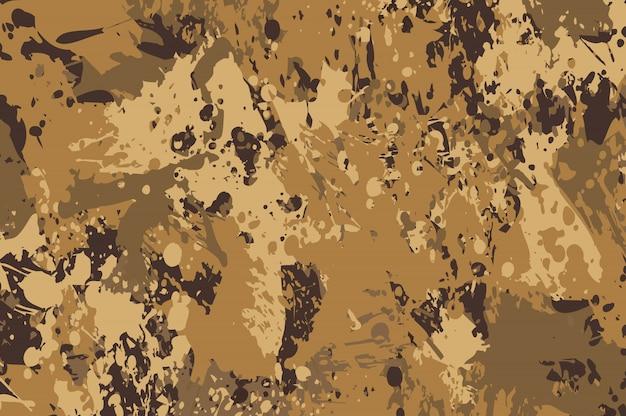 Fundo de camuflagem grunge abstrata