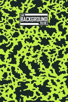 Fundo de camuflagem verde e preto