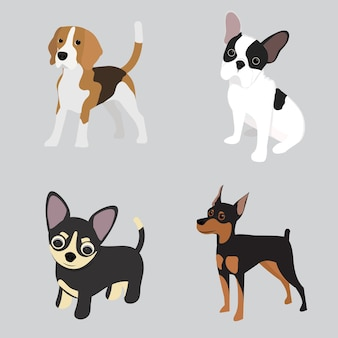 Fundo de cão sem costura