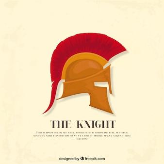 Fundo de capacete romano