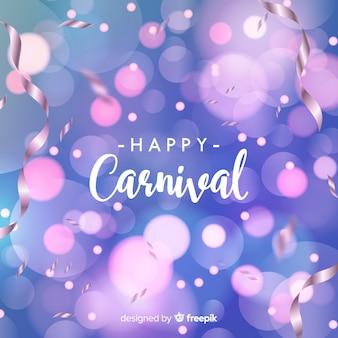 Fundo de carnaval de bokeh