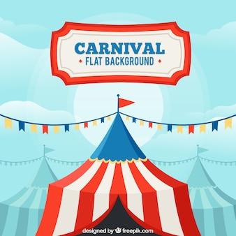 Fundo de carnaval plano