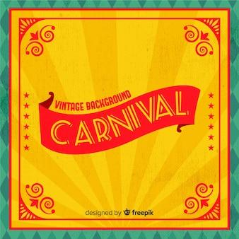 Fundo de carnaval vintage