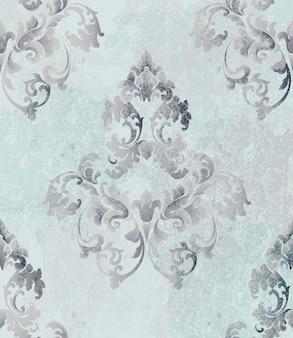 Fundo de cartão barroco vintage