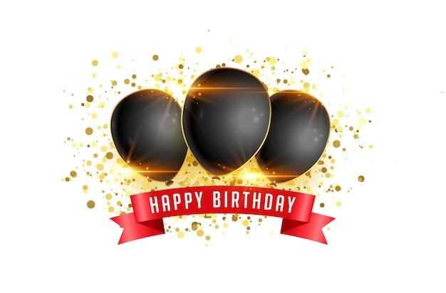 Fundo de cartão de feliz aniversário