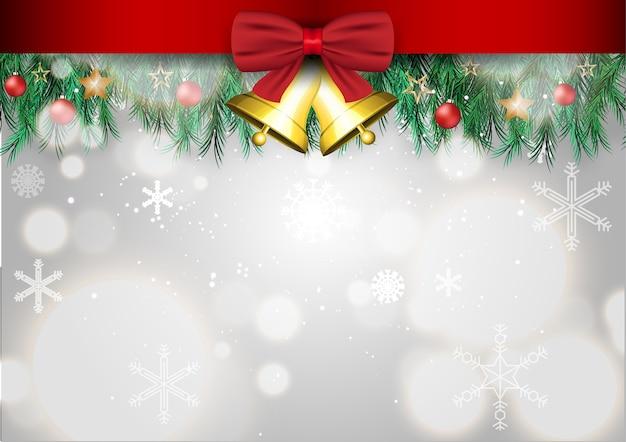 Fundo de cartão de feliz natal