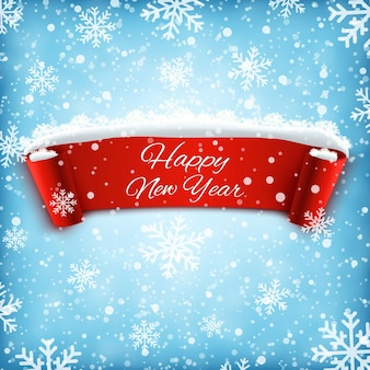 Fundo de celebração de feliz ano novo